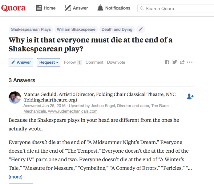 Shakespeare Tragedies